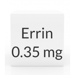Errin 0.35mg Tablets - 28 Tablet Pack