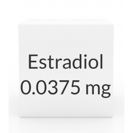Estradiol 0.0375mg Patch (8 Patch Pack) - Twice Weekly