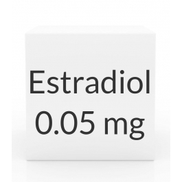 Estradiol (Vivelle-Dot) 0.05mg Patch (8 Patch Pack) - Twice Weekly