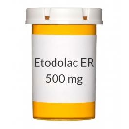 Etodolac ER 500mg Tablets