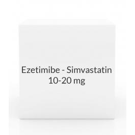 Ezetimibe - Simvastatin 10-20mg Tablets
