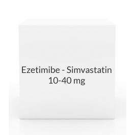 Ezetimibe - Simvastatin 10-40mg Tablets