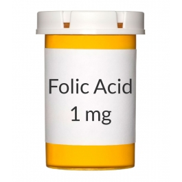 Folic Acid 1mg Tablets