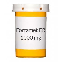 Fortamet ER 1000 mg Tablets