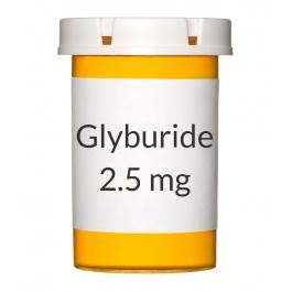 Glyburide 2.5mg Tablets