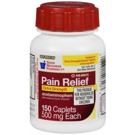 Good Neighbor Pharmacy Acetaminophen Extra Strength Easy Open 500mg Caplets-150ct