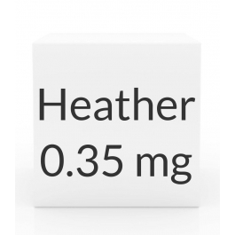 Heather 0.35mg Tablets - 28 Tablet Pack