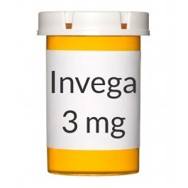 Invega ER 3mg Tablets