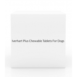 Iverhart Plus Chewable Tablets For Dogs 51-100 lbs (6 Month Pack)