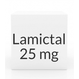 Lamictal 25mg Chewable Tablets