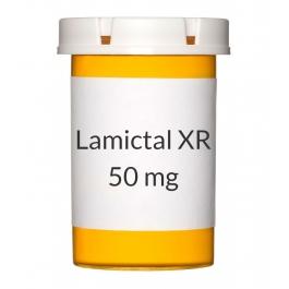 Lamictal XR 50mg Tablets