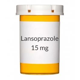 Lansoprazole DR 15mg Capsules