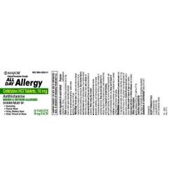 Cetirizine 10mg Tablets- 14ct (Major)