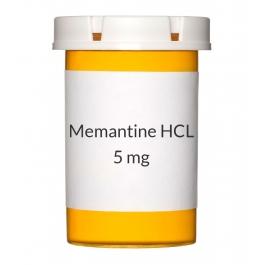 Memantine HCL 5mg Tablets