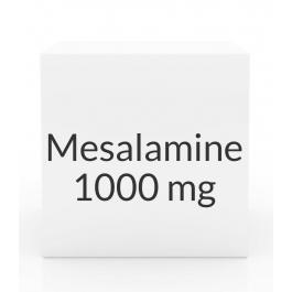 Mesalamine 1000mg Suppositories- 30ct Box