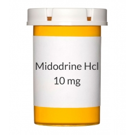Midodrine Hcl 10mg Tablets