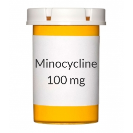 Minocycline 100mg Capsules
