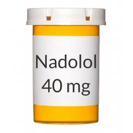 Nadolol 40 mg Tablets