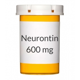 Neurontin 600mg Tablets