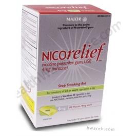 Major Nicorelief 4mg Gum Mint