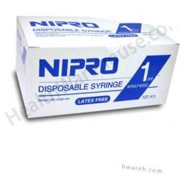 Nipro TB Syringe without Needle, 1cc, - 100 Count