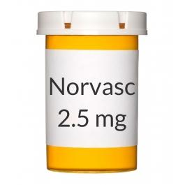 Norvasc 2.5mg Tablets