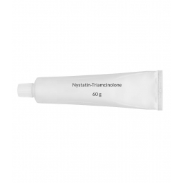 Nystatin-Triamcinolone 100,000U-0.1% Ointment (60g Tube)