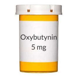 Oxybutynin 5mg Tablets