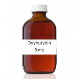 Oxybutynin 5mg/5ml Syrup  (16oz Bottle-473ml)