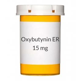 Oxybutynin ER 15mg Tablets
