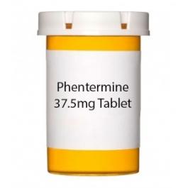 Phentermine  (Generic Adipex-p) 37.5mg Tablet
