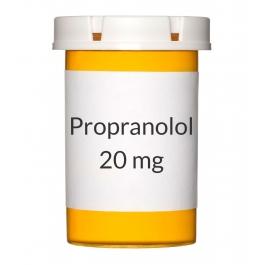 Propranolol 20mg Tablet