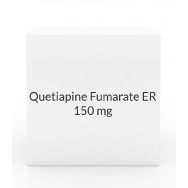 Quetiapine Fumarate ER 150mg Tablets (Generic Seroquel)