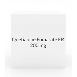 Quetiapine Fumarate ER 200mg Tablets (Generic Seroquel)