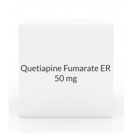 Quetiapine Fumarate ER 50mg Tablets(Generic Seroquel)