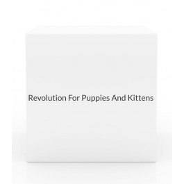 Revolution For Puppies And Kittens (Up To 5 lbs) - 3 Month Pack(Mauve)