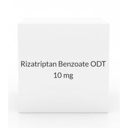 Rizatriptan Benzoate ODT 10 mg Tablets - 3 Tablet Pack