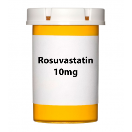 Rosuvastatin 10mg Tablets