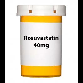 Rosuvastatin 40mg Tablets