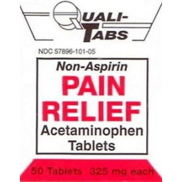 Gericare Pain Relief 325 Mg Strength Tablet 50 ct