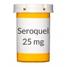 Seroquel 25mg Tablets
