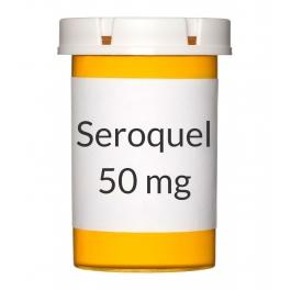Seroquel 50mg Tablets