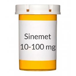 Sinemet 10-100 mg Tablets