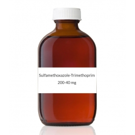 Sulfamethoxazole-Trimethoprim 200-40mg/5ml Pediatric Suspension (Cherry) - 16oz Bottle