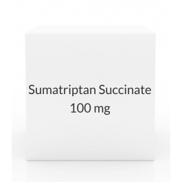 Sumatriptan Succinate 100 mg Tablets (9 Tablet Pack)