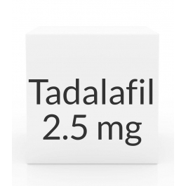 Tadalafil 2.5mg Tablets (Generic Cialis)