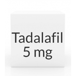 Tadalafil (Generic Cialis) 5mg Tablets (PRASCO)