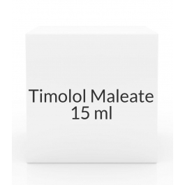 Timolol Maleate 0.25% Ophthalmic Solution - 15 ml Bottle