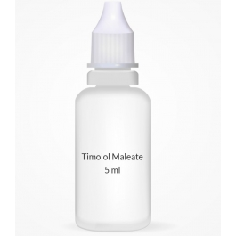 Timolol Maleate 0.5% Ophthalmic Solution - 5 ml Bottle