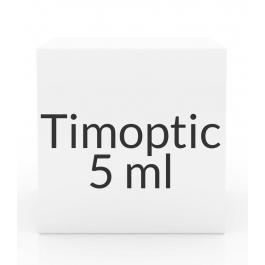 Timoptic (Timolol Maleate) 0.5% Ophthalmic Solution- 5ml